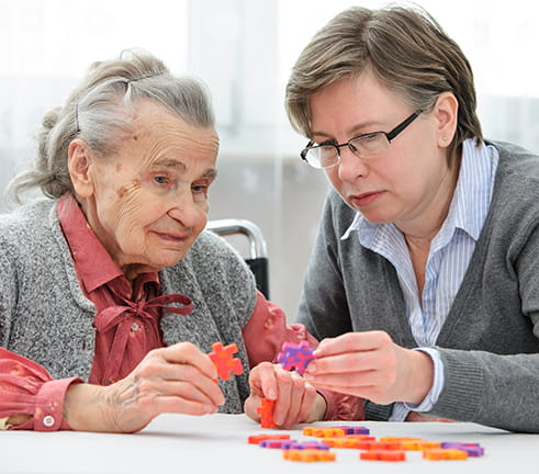 Caring for dementia patient