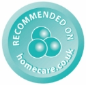 Recommended on Homecare Logo