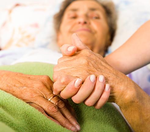 Palliative care patient